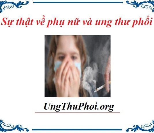 su that ve phu nu va ung thu phoi