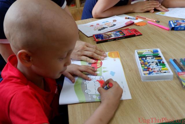 Lớp học hạnh phúc: Nơi những ước mơ của bệnh nhi ung thư thành hiện thực - 12