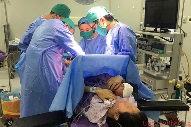 """Thai phụ 30 tuổi mắc ung thư đại tràng vẫn """"gồng mình"""" giữ con - 1"""