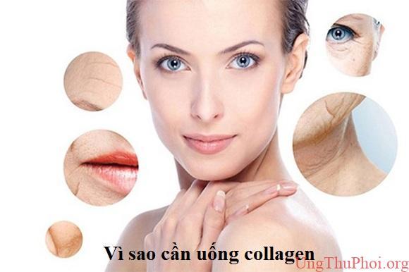 Vì sao cần uống collagen
