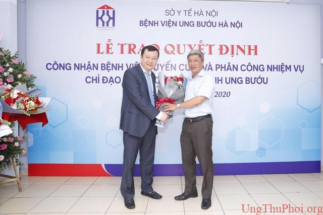 Bệnh viện Ung Bướu Hà Nội được công nhận bệnh viện tuyến cuối - 1