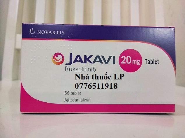 Thuốc Jakavi 20mg Ruxolitinib điều trị ung thư máu (1)