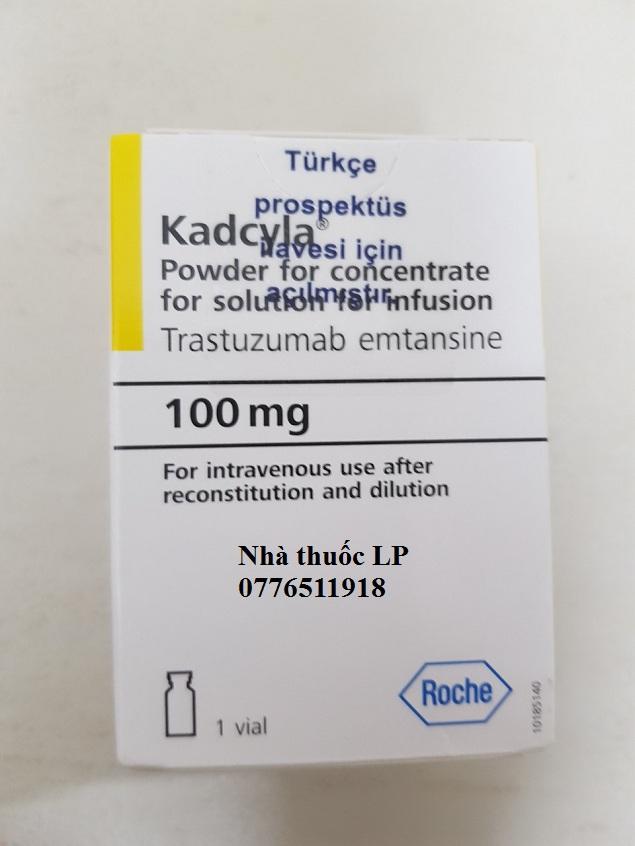 Thuốc Kadcyla 100mg Trastuzumab emtansine điều trị ung thư vú (3)