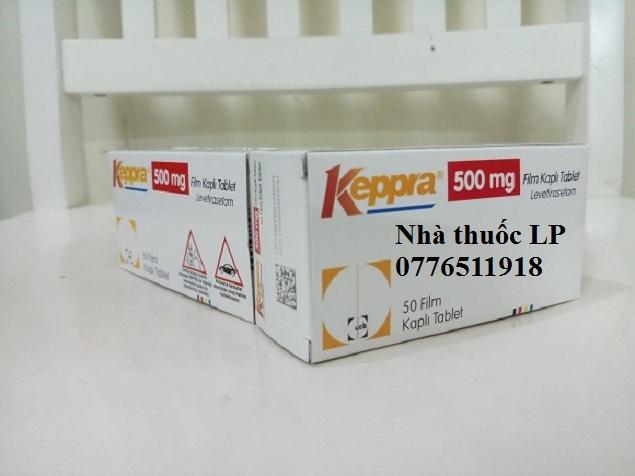 Thuốc Keppra 500mg Levetiracetam chống co giật (động kinh) (2)