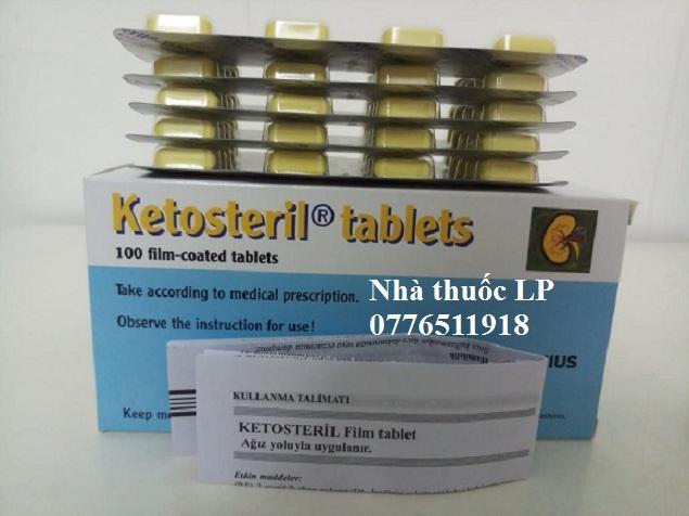 Thuốc Ketosteril 600mg Methionine điều trị bệnh thận mãn tính (2)