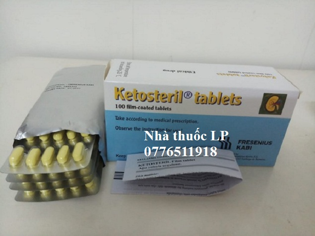 Thuốc Ketosteril 600mg Methionine điều trị bệnh thận mãn tính (4)