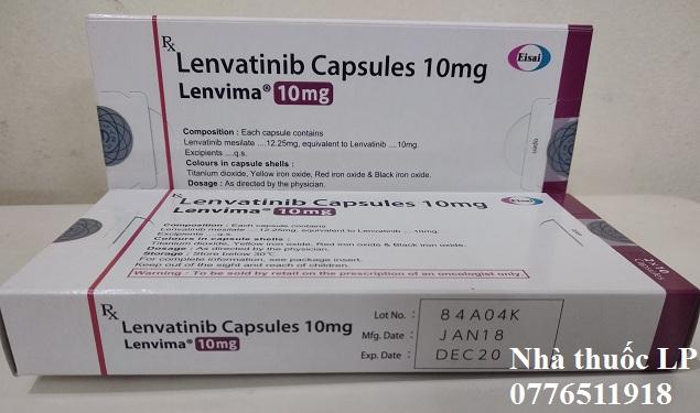 Thuốc Lenvima 10mg Lenvatinib điều trị ung thư gan, tuyến giáp (1)