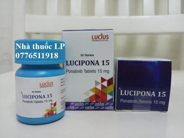 Thuốc Lucipona 15mg Ponatinib điều trị ung thư bạch cầu (2)