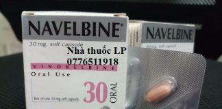 Thuốc Navelbine 30mg Vinorelbine điều trị ung thư phổi, ung thư vú (1)