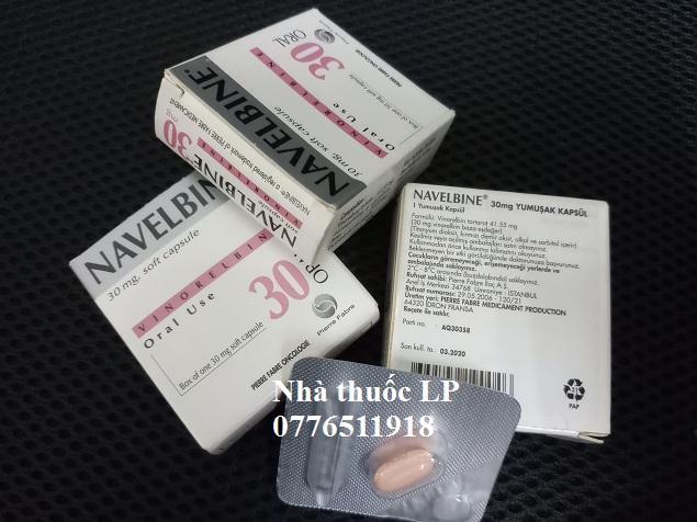 Thuốc Navelbine 30mg Vinorelbine điều trị ung thư phổi, ung thư vú (2)