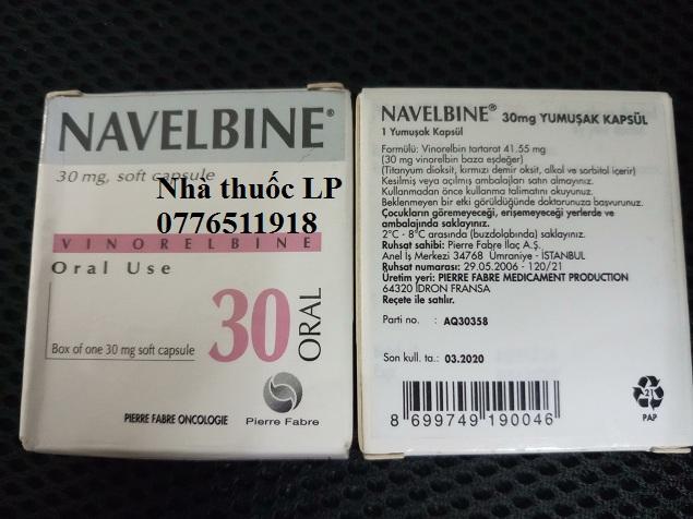 Thuốc Navelbine 30mg Vinorelbine điều trị ung thư phổi, ung thư vú (4)