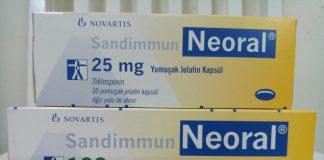 Thuốc Neoral 25mg và 100mg Ciclosporin chống thải ghép tạng (1)