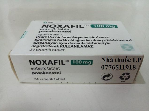 Thuốc Noxafil 100mg Posaconazole điều trị phòng chống nhiễm trùng (2)