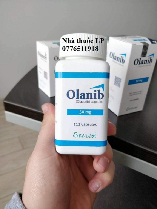 Thuốc Olanib 50mg Olaparib điều trị ung thư buồng trứng (3)