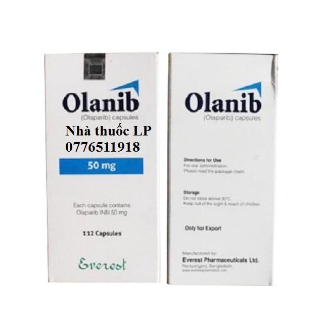 Thuốc Olanib 50mg Olaparib điều trị ung thư buồng trứng (4)