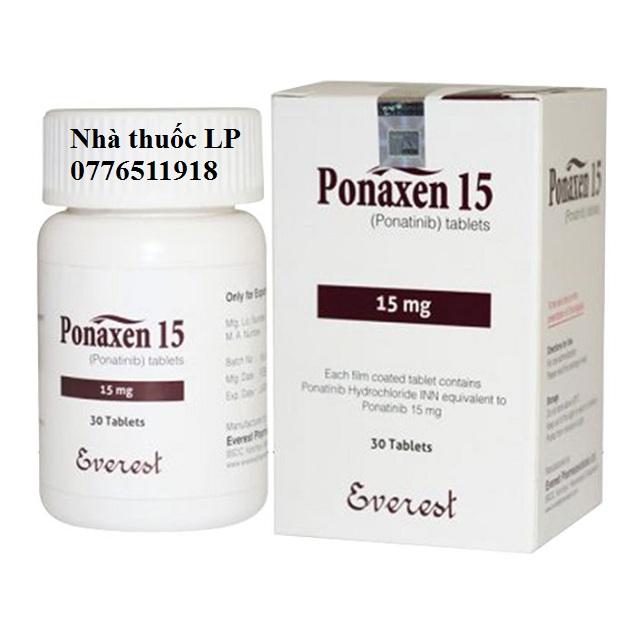 Thuốc Ponaxen 15mg & 45mg Ponatinib điều trị ung thư bạch cầu (2)
