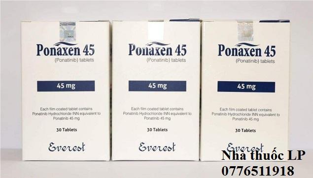 Thuốc Ponaxen 15mg & 45mg Ponatinib điều trị ung thư bạch cầu (3)