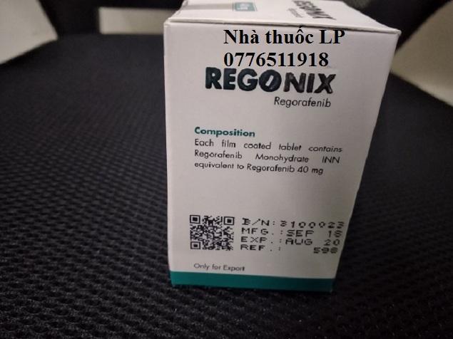 Thuốc Regonix 40mg Regorafenib điều trị ung thư gan, trực tràng (4)