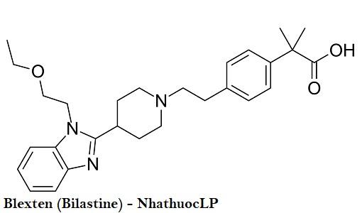 Blexten (Bilastine) - NhathuocLP