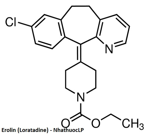 Erolin (Loratadine) - NhathuocLP