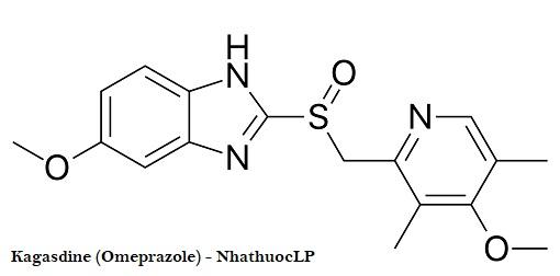 Kagasdine (Omeprazole) - NhathuocLP