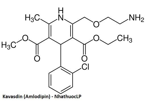 Kavasdin (Amlodipin) - NhathuocLP