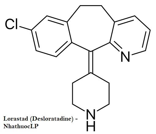 Lorastad (Desloratadine) - NhathuocLP