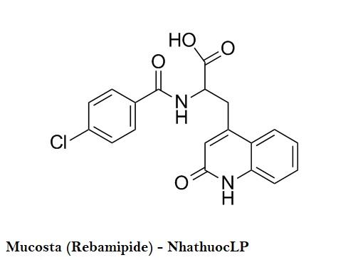Mucosta (Rebamipide) - NhathuocLP