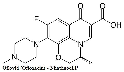 Oflovid (Ofloxacin) - NhathuocLP