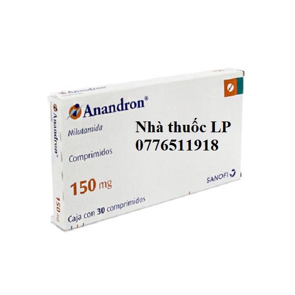 Thuốc Anandron 150mg Nilutamid điều trị ung thư tuyến tiền liệt (4)