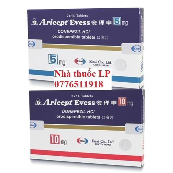 Thuốc Aricept 5mg 10mg Donepezil điều trị chứng mất trí do bệnh Alzheimer (1)