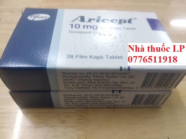 Thuốc Aricept 5mg 10mg Donepezil điều trị chứng mất trí do bệnh Alzheimer (4)