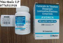 Thuốc Avonza 300mg/300mg/400mg Tenofovir, Lamivudine, Efavirenz điều trị nhiễm HIV (1)
