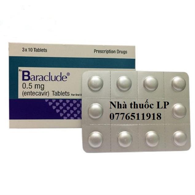 Thuốc Baraclude 0.5mg Entecavir điều trị virus viêm gan B (2)