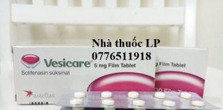 Thuốc Vesicare 5mg Solifenacin điều trị bàng quang hoạt động quá mức (1)