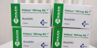 Thuốc Vidaza 100mg Azacitidine điều trị các bệnh ung thư tủy xương, suy tủy, bạch cầu mãn tính (1)