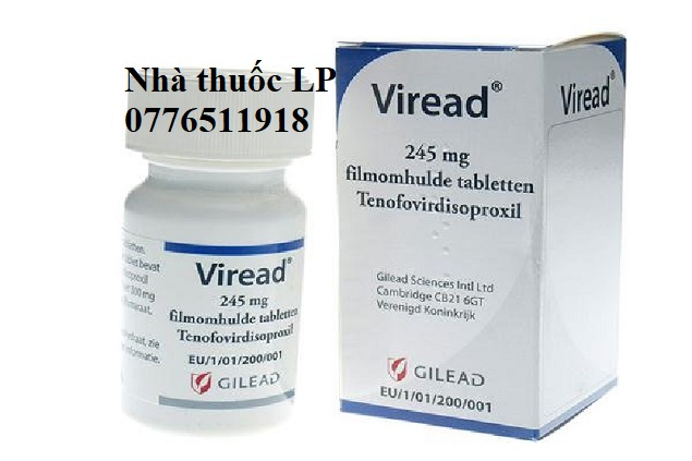Thuốc Viread 300mg Tenofovir thuốc chống một số vi-rút, viêm gan B (2)