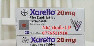 Thuốc Xarelto 20mg Rivaroxaban chống đột quỵ chống đông máu (1)