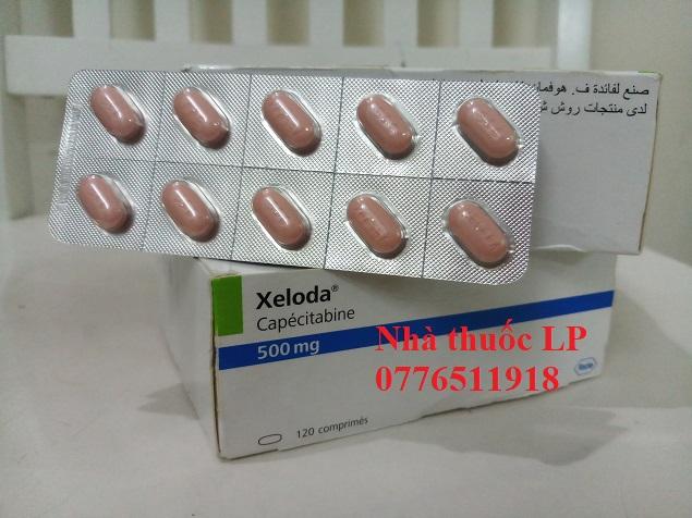 Thuốc Xeloda 500mg Capecitabine điều trị ung thư đại trực tràng, vú (2)