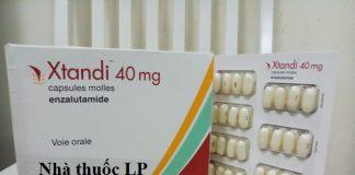 Thuốc Xtandi 40mg Enzalutamide điều trị ung thư tuyến tiền liệt (1)