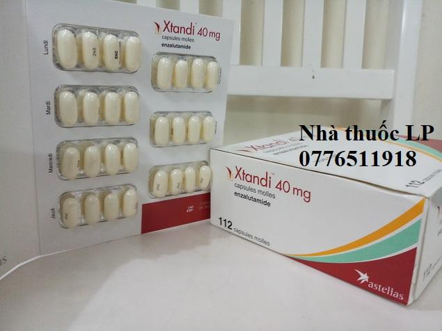 Thuốc Xtandi 40mg Enzalutamide điều trị ung thư tuyến tiền liệt (2)