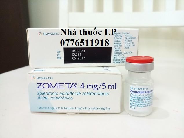 Thuốc Zometa 4mg/5ml Axit Zoledronic điều trị ung thư tủy xương (2)