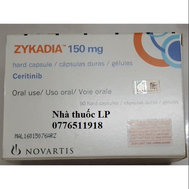 Thuốc Zykadia 150mg Ceritinib điều trị ung thư phổi (3)