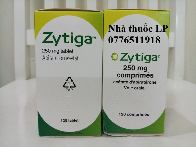 Thuốc Zytiga 250mg Abiraterone điều trị ung thư tiền liệt tuyến (1)