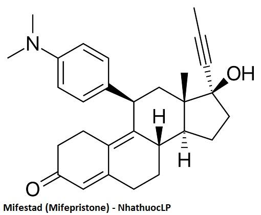 Mifestad (Mifepristone) - NhathuocLP