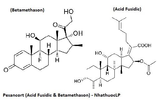 Pesancort (Acid Fusidic & Betamethason) - NhathuocLP