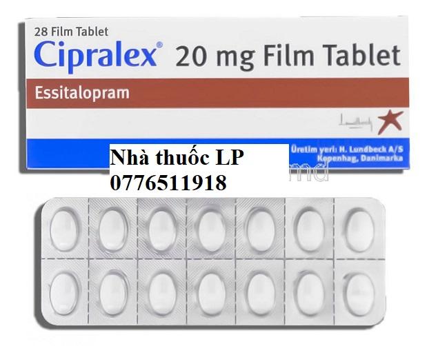 Thuốc Cipralex 20mg Escitalopram điều trị trầm cảm (3)
