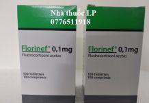 Thuốc Florinef 0.1mg Fludrocortison acetate điều trị bệnh Addison và hội chứng adrenogenital (1)