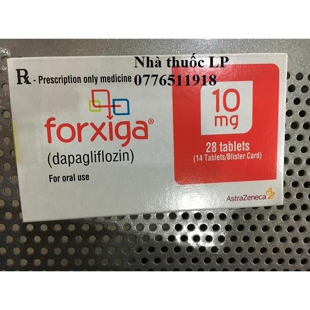 Thuốc Forxiga 10mg Dapagliflozin điều trị đái tháo đường (2)