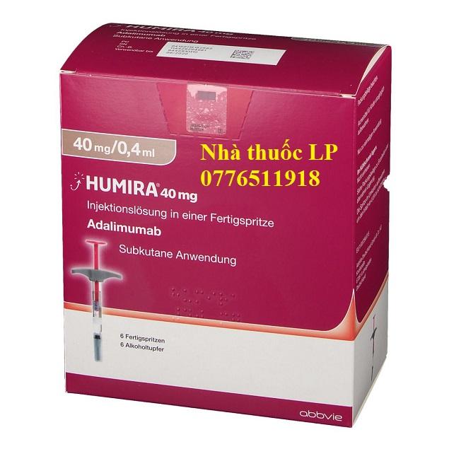 Thuốc Humira 40mg/0.4ml Adalimumab điều trị viêm khớp dạng thấp (2)